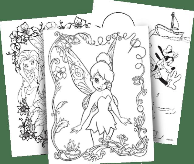 Disney Free Coloring Pages Crayola Com
