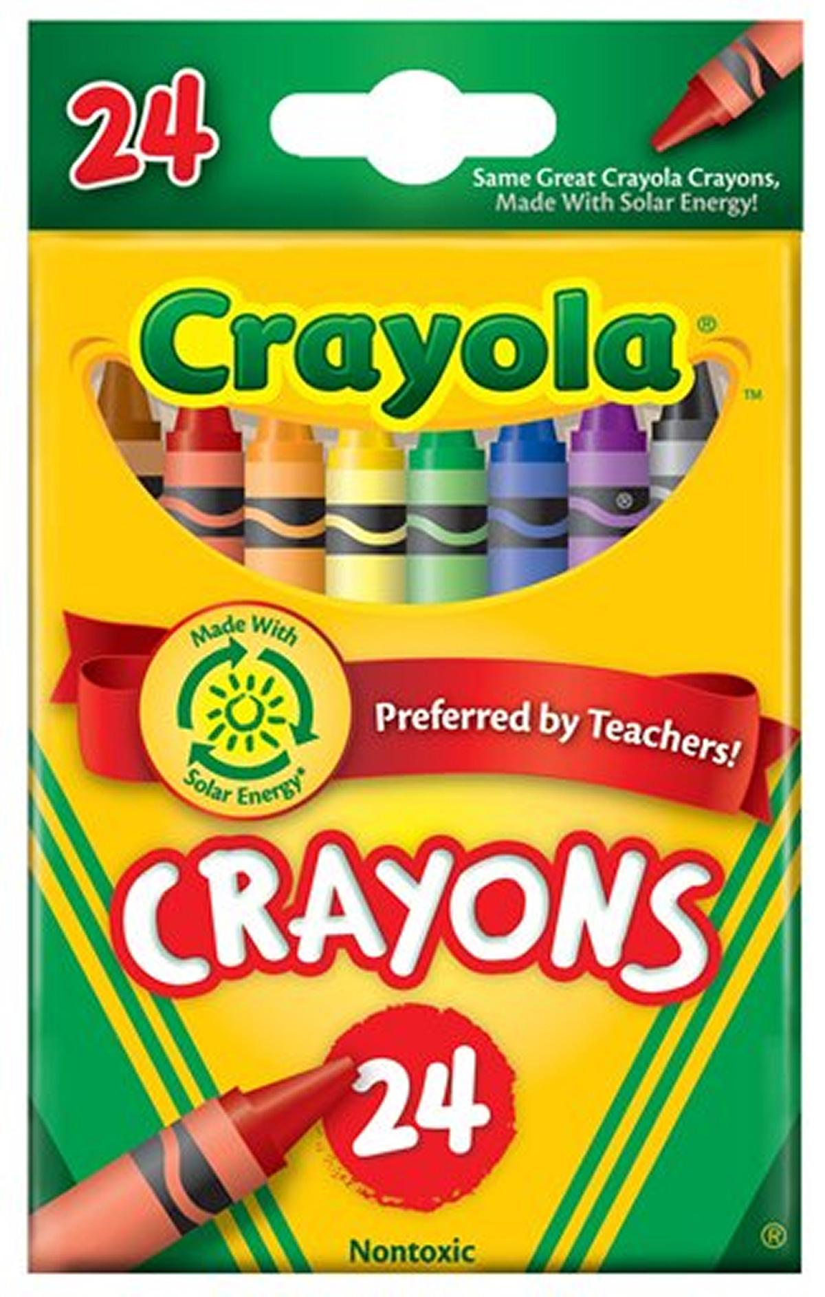 24 ct. Crayola Crayons