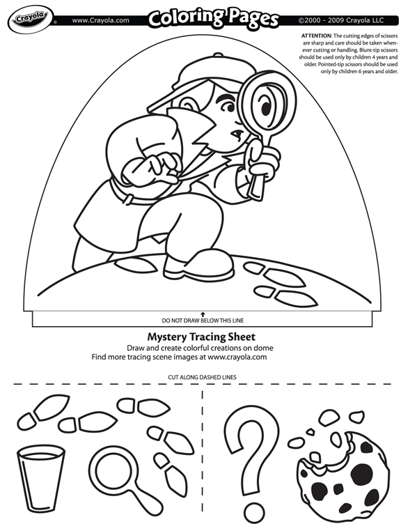 dome light designer  mystery search coloring page