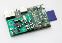 Raspberry Pi with HiFiBerry USB