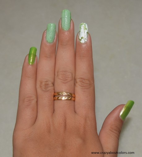 Shades of Green: NOTD