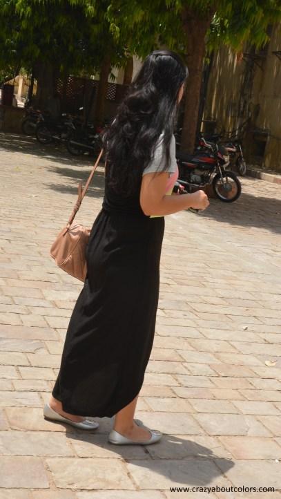 OOTD: Asymmetric Hem Skirt