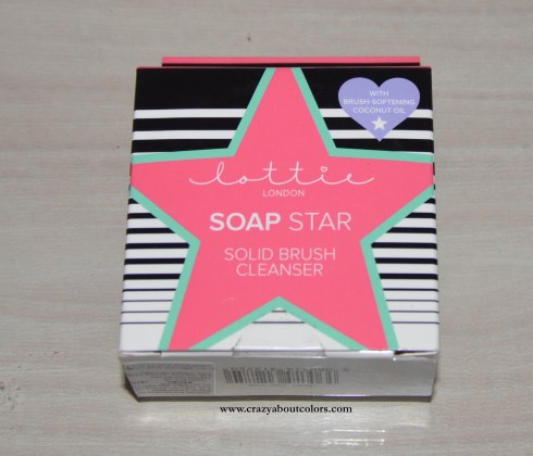 Lottie London Soap Star Brush Cleanser