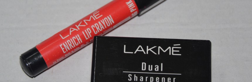 Lakme Enrich Lip Crayon in Blushing Pink (10)