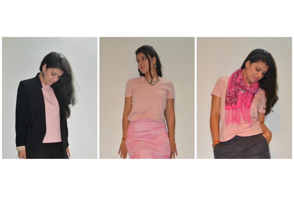 Ways to style a t shirt