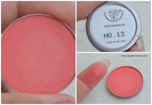 PAC Cosmetics sparkle eyeshadows 13