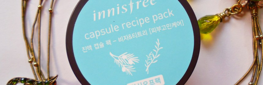 Innisfree Capsule Recipe Pack Bija & Tea Tree