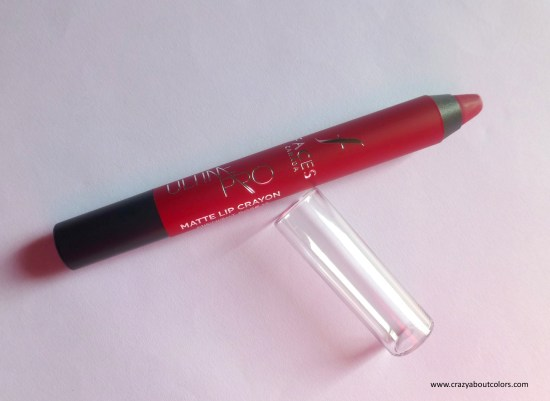 Faces Ultime Pro Matte Lip Crayon Midnight Rose