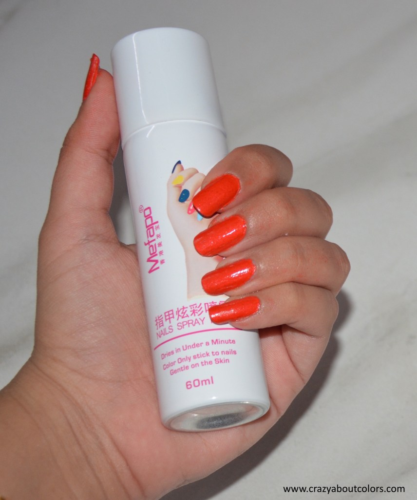 Spray Paint Nail Polish