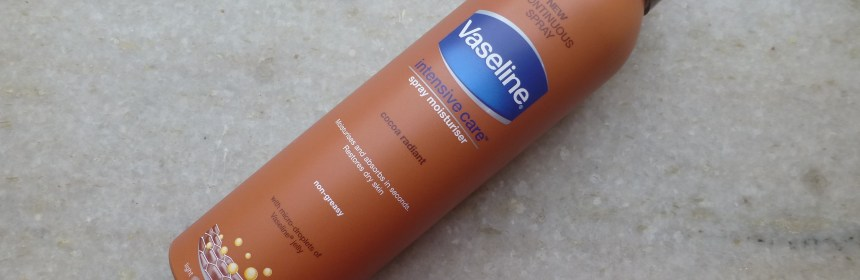 Vaseline Intensive Care Spray Moisturiser Cocoa Radiant