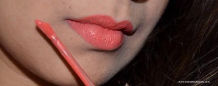 Wet n Wild Liquid Catsuit Matte Lipstick Coral Corruption