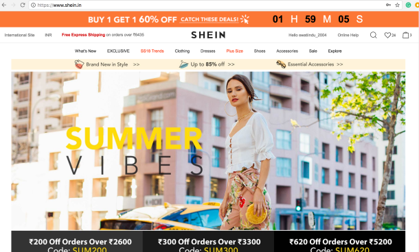 Shein Haul and Website Review