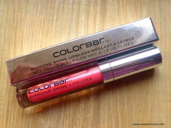 Colorbar Diamond Shine Lipgloss Pixie Pink