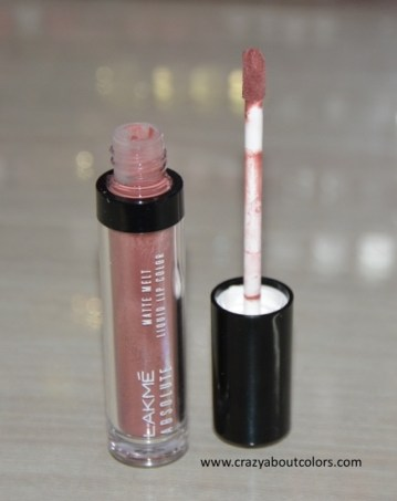 Lakme Absolute Matte Melt Liquid Lip Color Mild Mauve