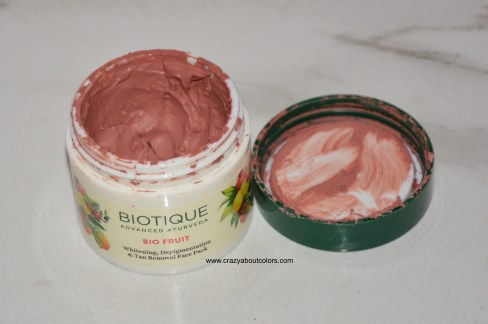 Biotique Tan Removal Face Pack