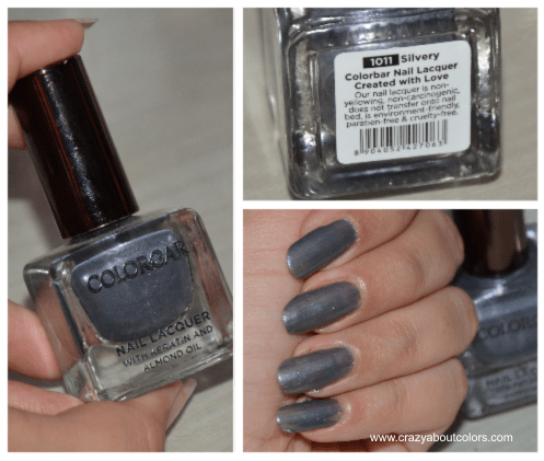 Colorbar  Silvery