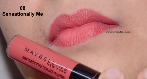 Maybelline Sensational Liquid Matte Lipstick