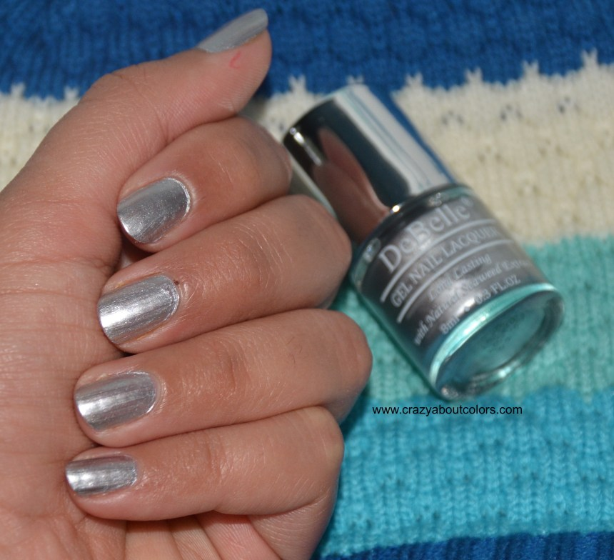 DeBelle Gel Nail Lacquer Chrome Silver