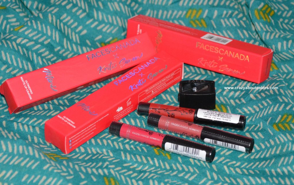 Faces Canada LIpsticks