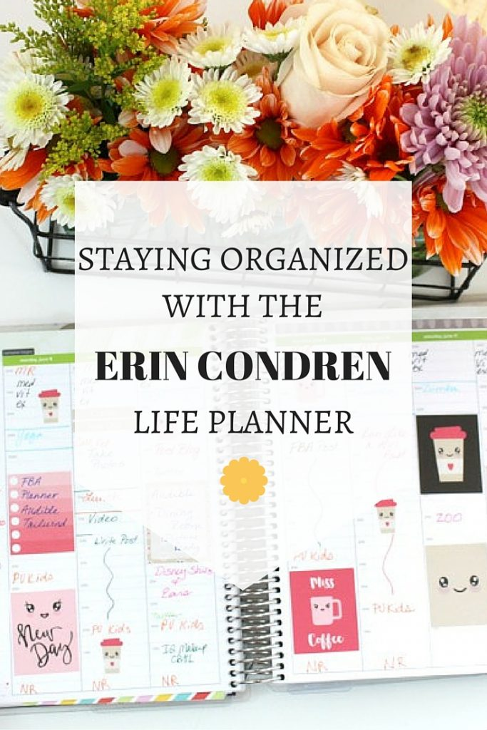 Staying Organized with the Erin Condren Life Planner