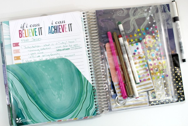 All about the Erin Condren Life Planner. Click through to read more or pin now and read later.