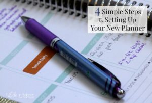 9 tips for your Erin Condren life planner