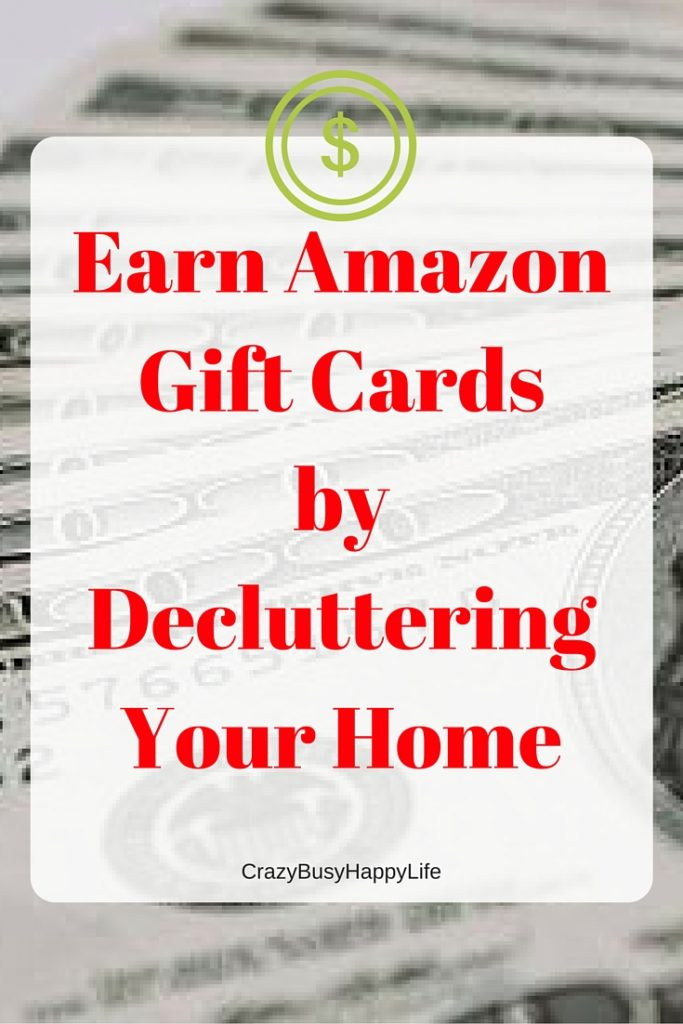 Earn Amazon gift cards by decluttering your house -