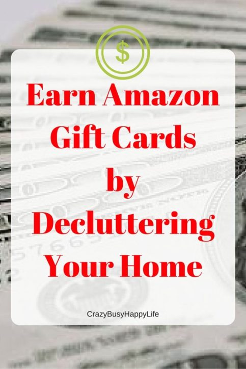 Tired of the crazy mess in your house? Get rid of some of the clutter by trading-in your stuff through the Amazon trade-in progra. Earn Amazon gift cards for your used or new stuff. Click through to read more or pin now and read later.
