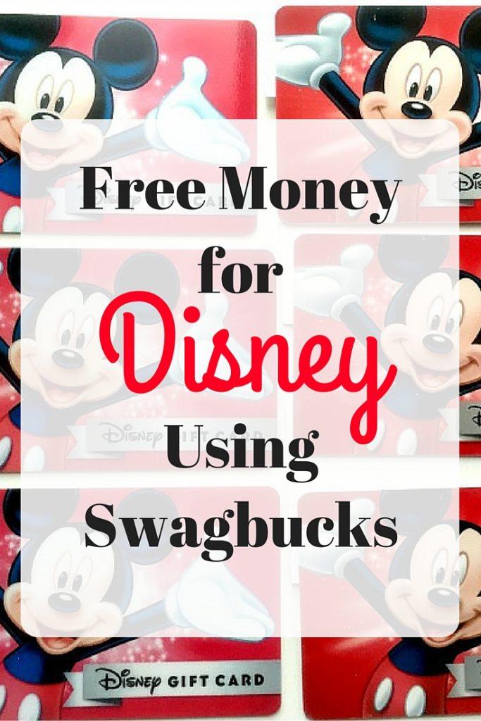 Swagbucks to Disney: Free Money for your Disney World Trip -