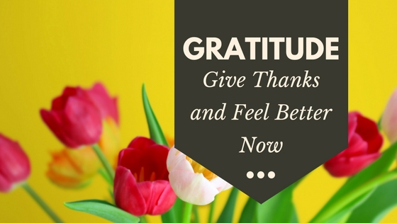 Giving thanks and expressing gratitude reduces stress