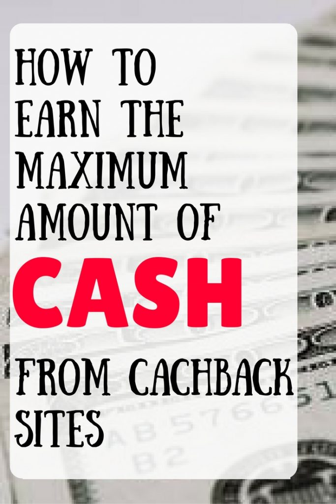 This post goes over all the ways to earn more money from cashback sites. You have to go shopping anyway, you might as well earn moeny from it.