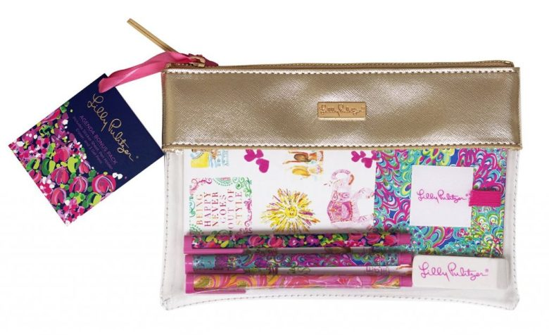 Lilly Pulitzer Planner accessories