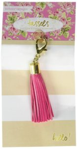 Pink planner tassel