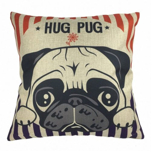 Pug Dog Pillow. Gifts for every pug lover