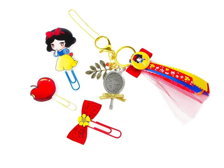 Snow White Planner accessories
