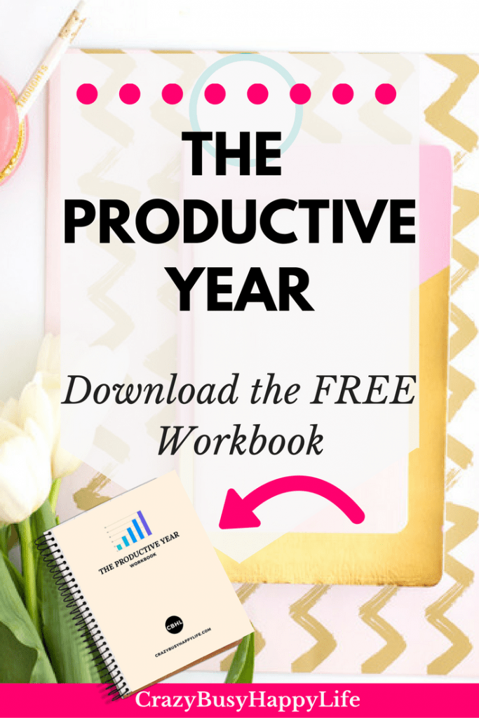 Learn how to have your most productive year ever! The good news is you don't have to wait for a new year, you can start your productive year at any time. Read this post and download the free workbook to learn how to have your best year ever.