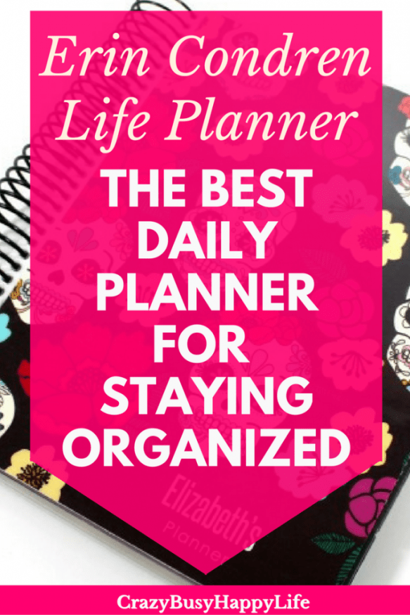 A look inside the Erin Condren Life Planner, the best daily planner for staying organized and productive.