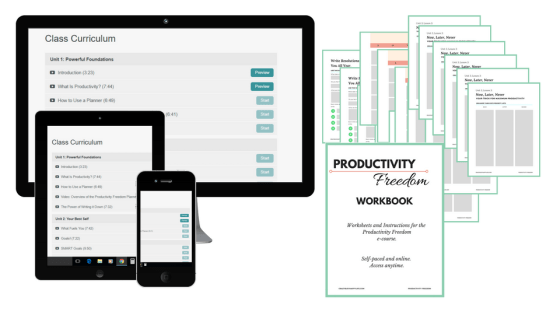 Learn how to be more productive and crush your goals.