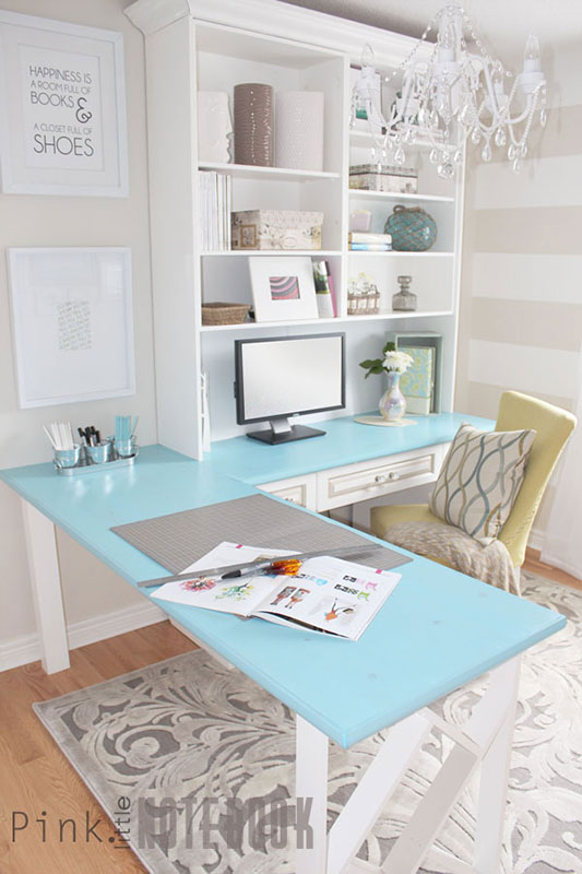 Cute organization hacks for your home office