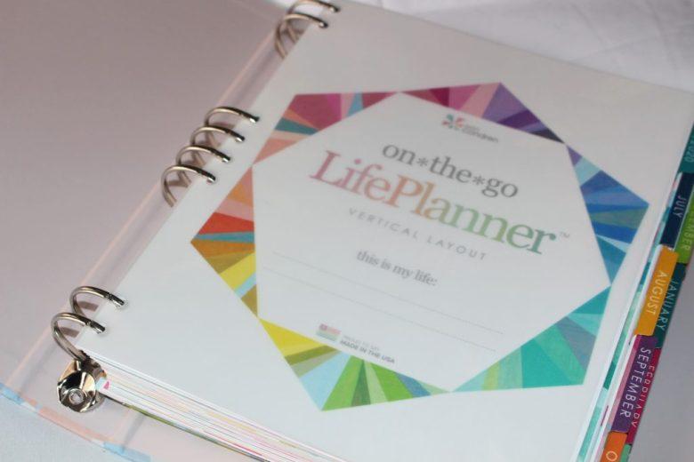 Velum page Erin Condren LifePlanner Binder