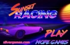 Sunset Racing Game