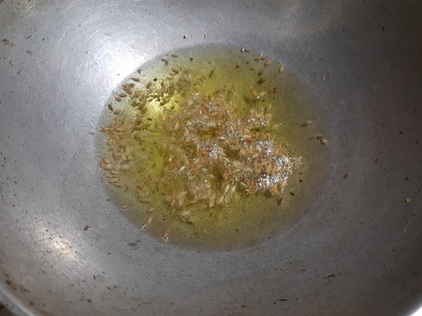 add cumin seeds in stuffing