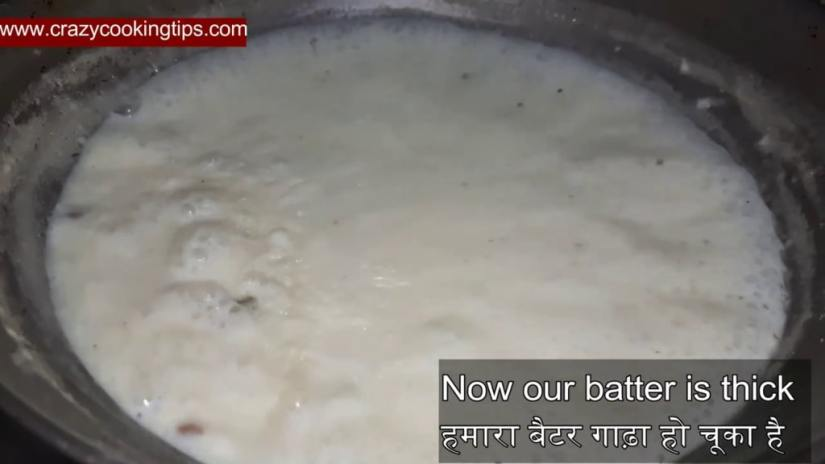 cooked batter