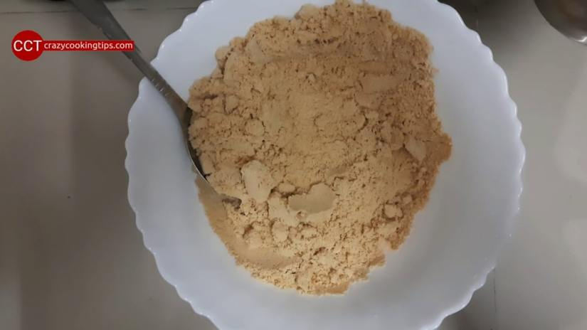 take out mixture in bowl