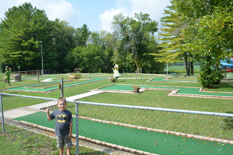 Miniature Golf Course - Which Is FREE!