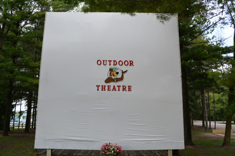 Yogi's Outdoor Movie Theater