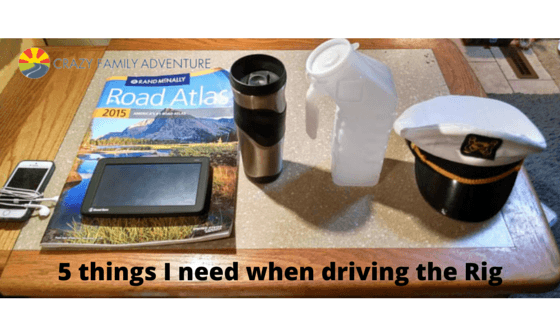 5 Things I Need When Driving The Rig