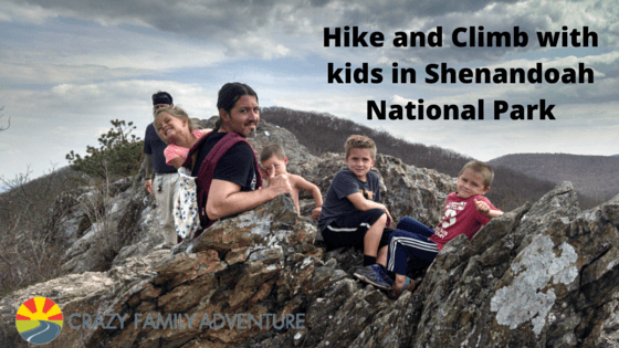 Hike And Climb With Kids In Shenandoah
