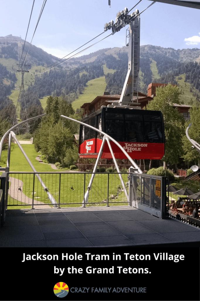 Jackson Hole Tram in Teton Village by