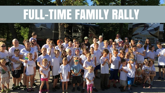 Full-time Families Rally Time!!